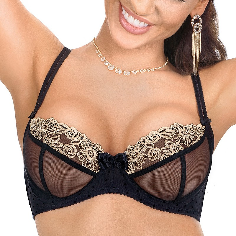 Róża Nefer soft cup bra